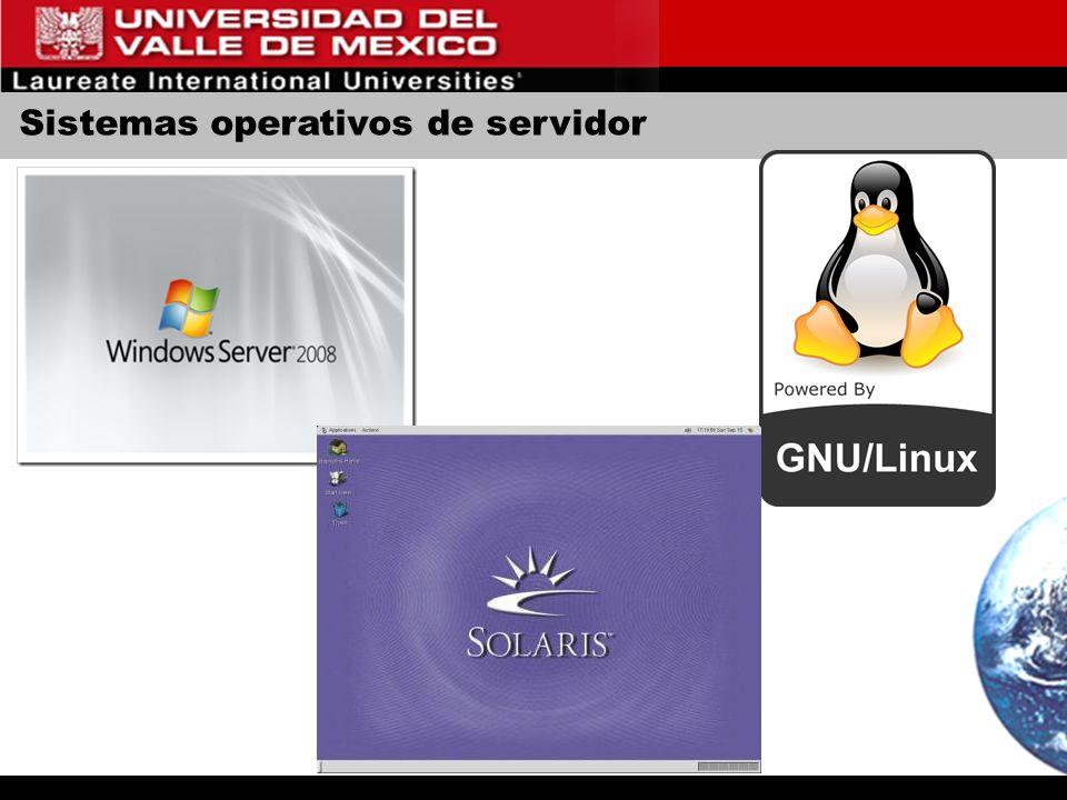 Sistemas operativos de servidor
