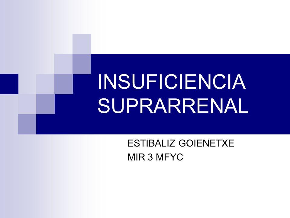 INSUFICIENCIA SUPRARRENAL ESTIBALIZ GOIENETXE MIR 3 MFYC
