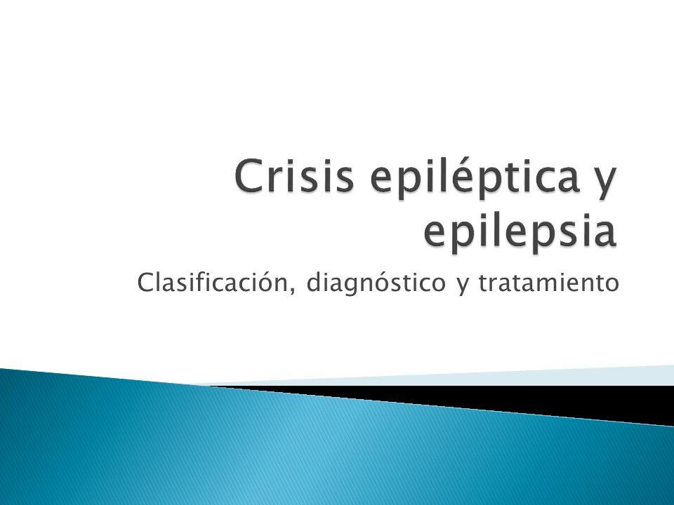 Clasificación, diagnóstico y tratamiento