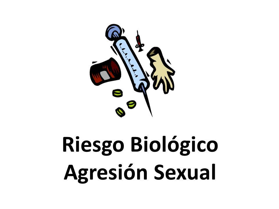 Riesgo Biológico Son accidentes laborales en los que se ha producido corte, inoculación o salpicaduras en mucosas con objetos o elementos contaminados de sangre o fluidos biológicos