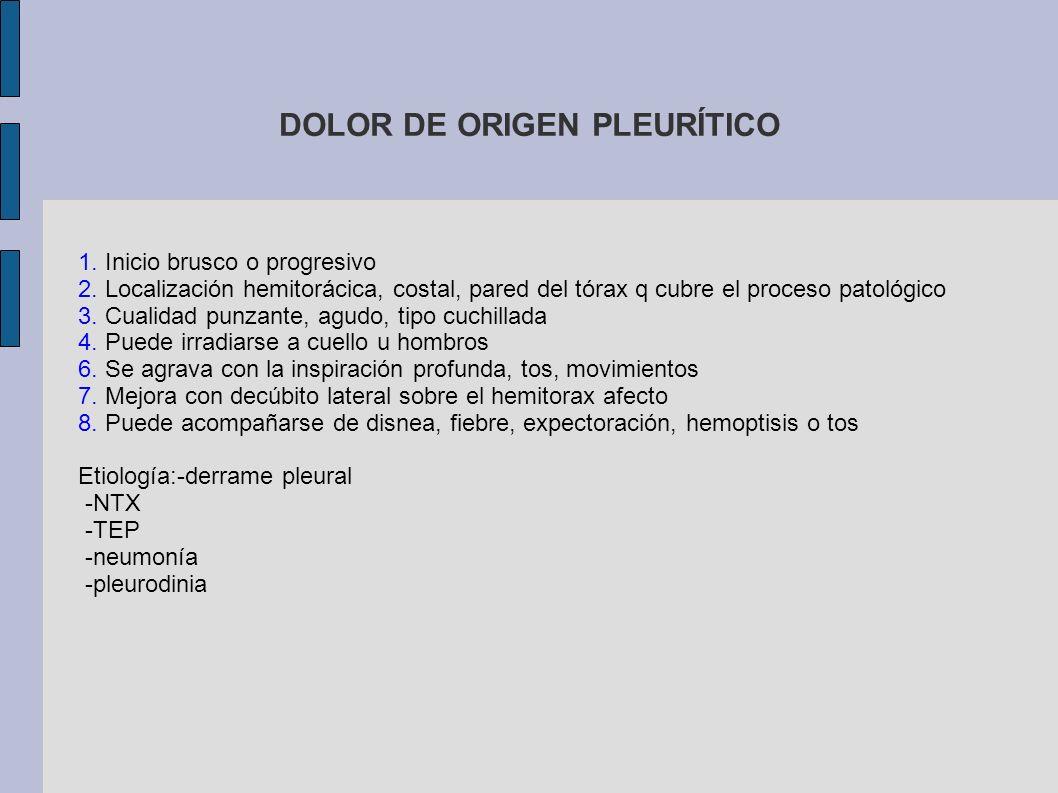 DOLOR DE ORIGEN ESOFÁGICO 1.