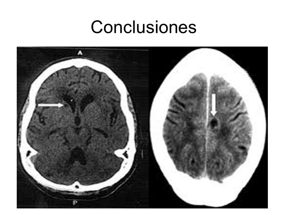 Conclusiones El ictus es una urgencia médica. Su detección precoz tanto en atención primaria como en el servicio de urgencias contribuye a un mejor pr