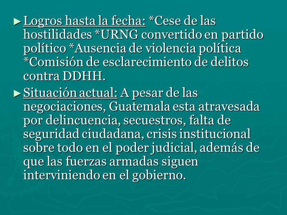 Venezuela: Elije un camino inverso que el de Guatemala.