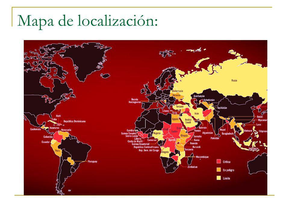 Mapa de localización: