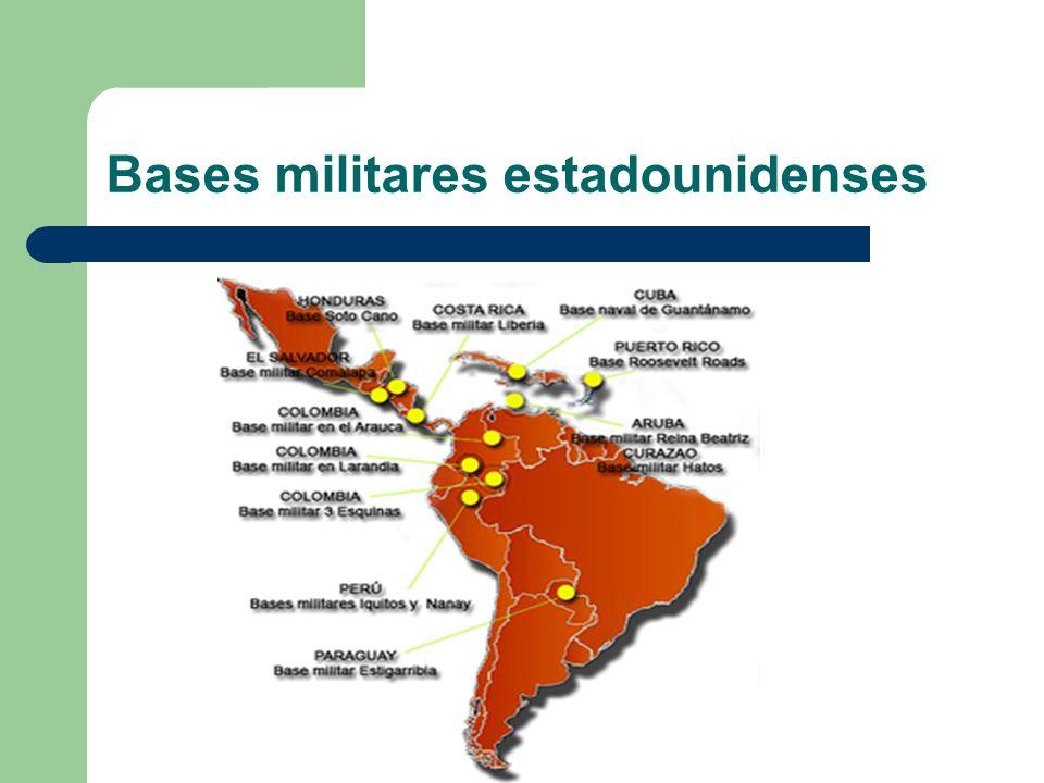 Bases militares estadounidenses