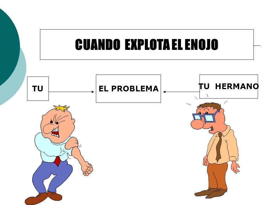 EL PROBLEMA TU TU HERMANO CUANDO EXPLOTA EL ENOJO