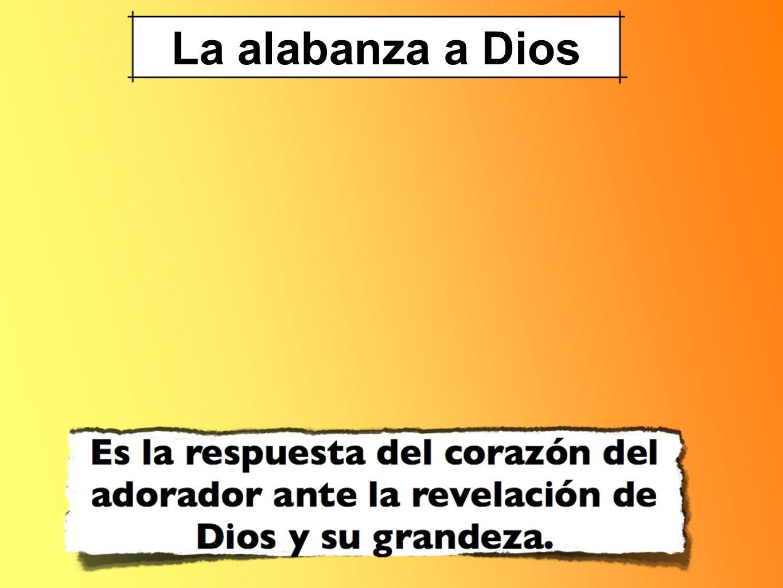 La alabanza a Dios