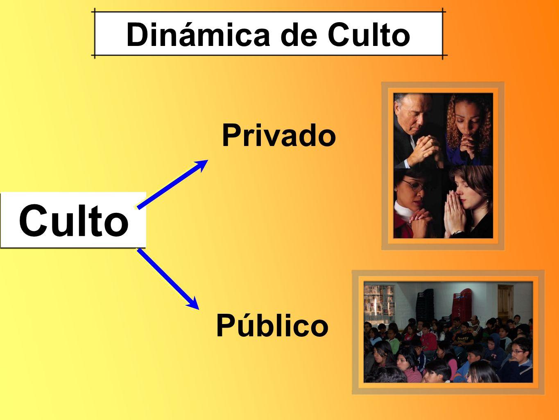 Dinámica de Culto Culto Privado Público