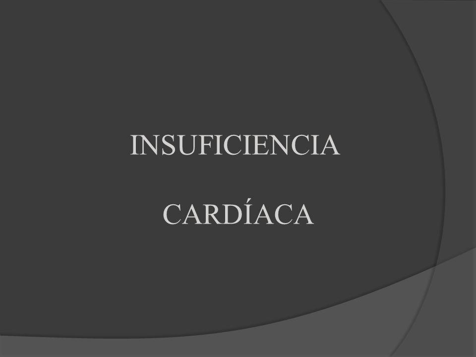 INTRODUCCIÓN Es la situación en la que el corazón no expulsa la sangre suficiente para los requerimientos metabólicos de los tejidos.