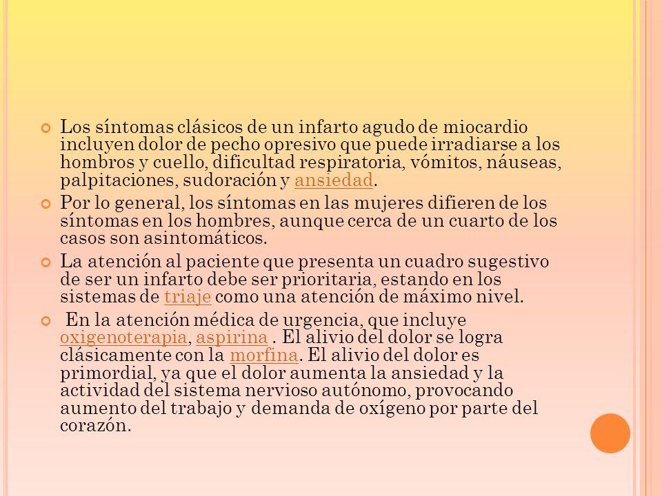 TIPOS DE INFARTOS