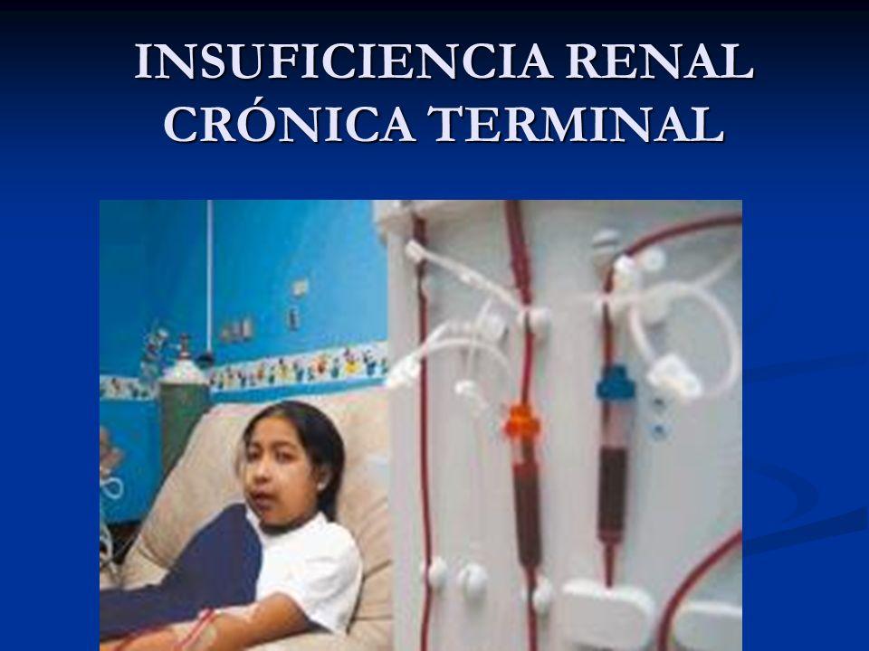 INSUFICIENCIA RENAL CRÓNICA TERMINAL