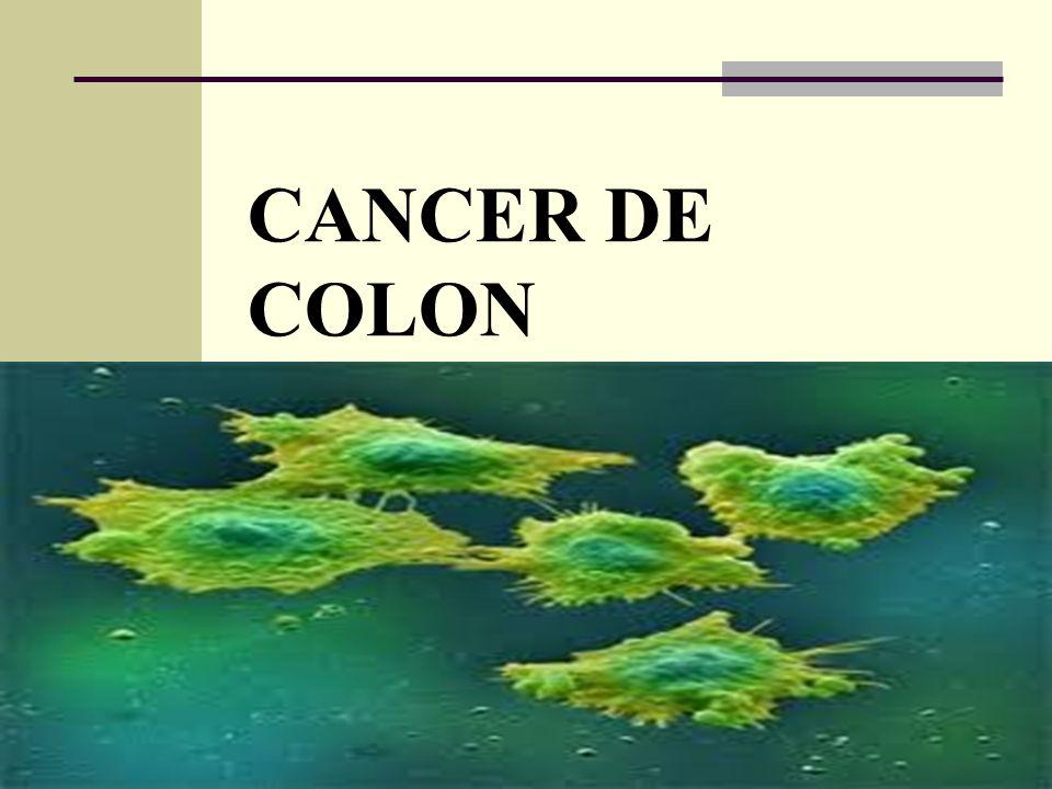Etiología No hay una causa única para el cáncer de colon.cáncer Casi todos los cánceres de colon comienzan como pólipos no cancerosos (benignos), que lentamente se van convirtiendo en cáncer.pólipos