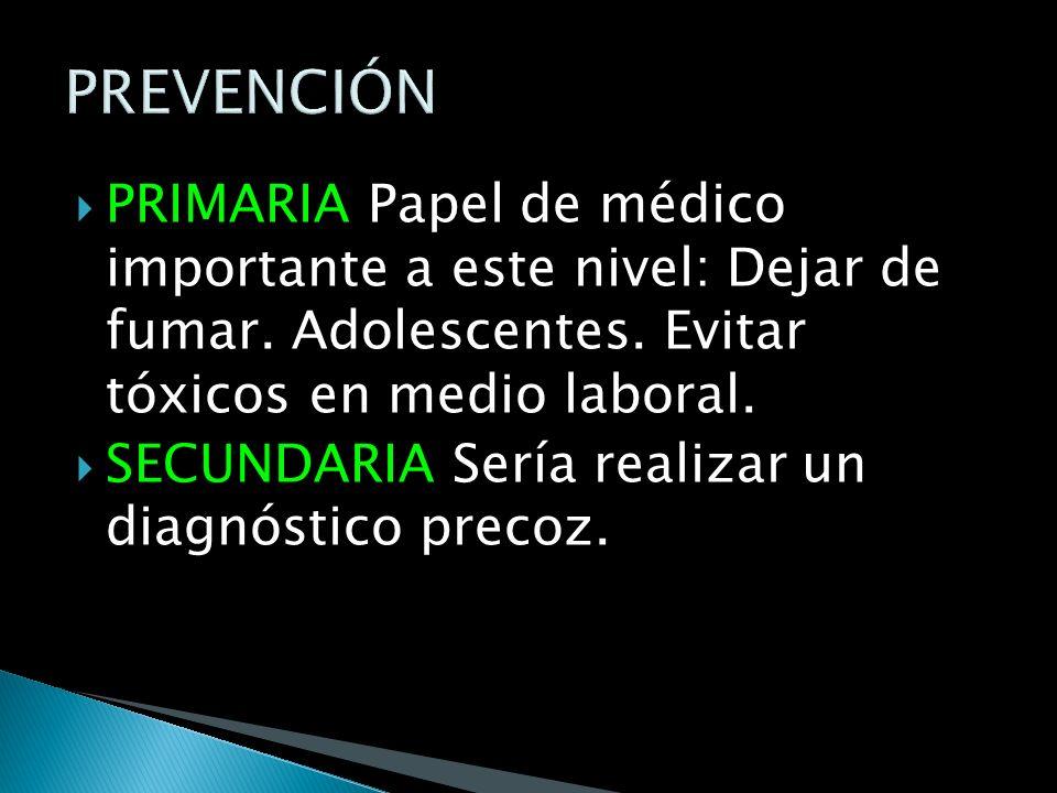 RX DE TORAX: Sigue siendo el procedimiento básico mas importante y tiene una eficacia global del 70- 88% para diagnostico de sospecha de la enfermedad.