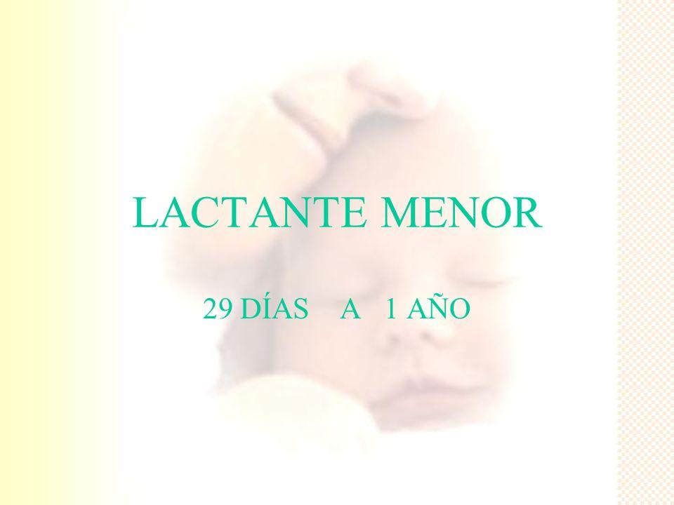 MADURACIÓN DEL LACTANTE POR SISTEMAS 4.