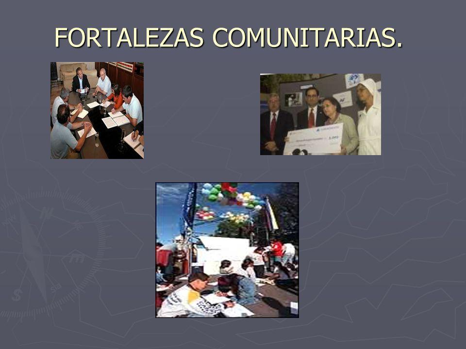 FORTALEZAS COMUNITARIAS.