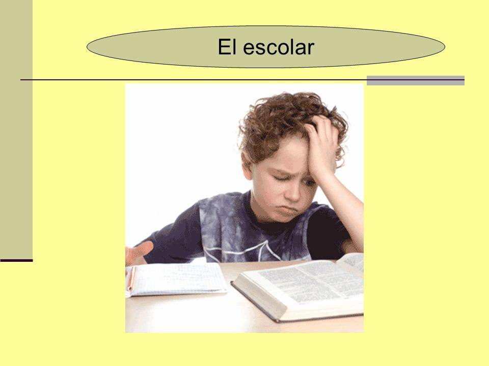 EL ESCOLAR El niño entre los 6 y 10 años enfrenta uno de las etapas más exigentes de su desarrollo personal, la cual será determinante para la consolidación de su personalidad y de sus capacidades emocionales, laborales y sociales.