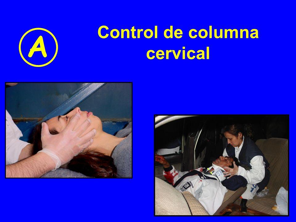 Control de columna cervical A