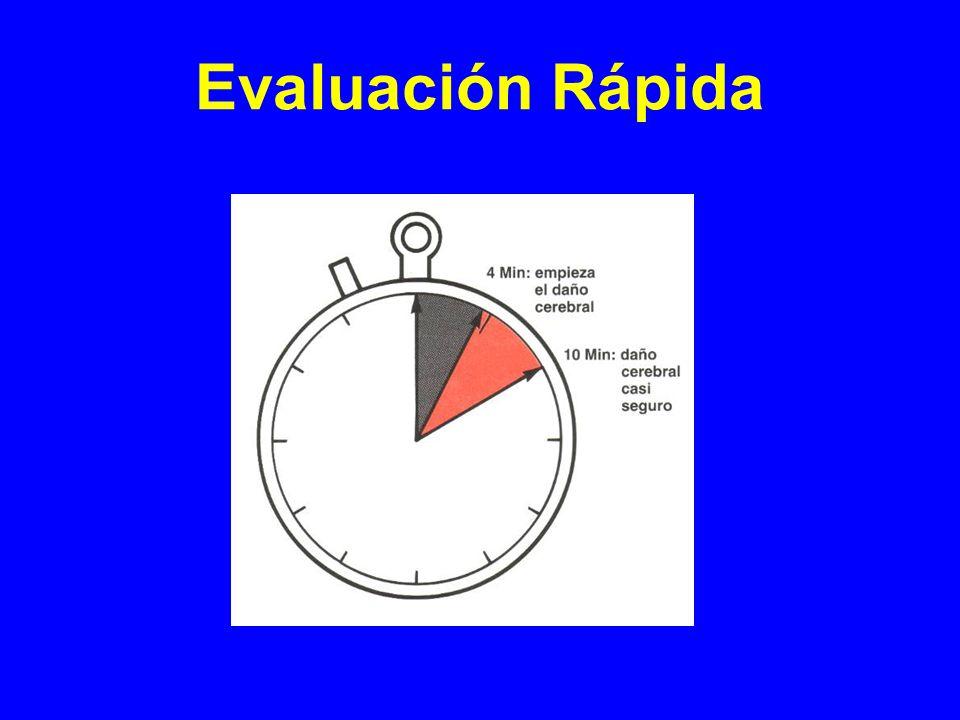 A : Vía aérea y columna cervical 3º Mantener: Cánula NasofaringeaCánula orofaringea