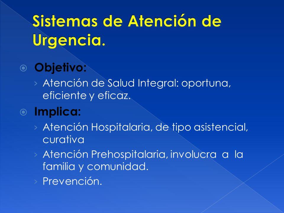 Objetivo: Atención de Salud Integral: oportuna, eficiente y eficaz.