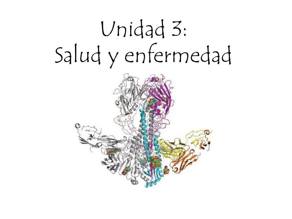 Unidad 3: Salud y enfermedad