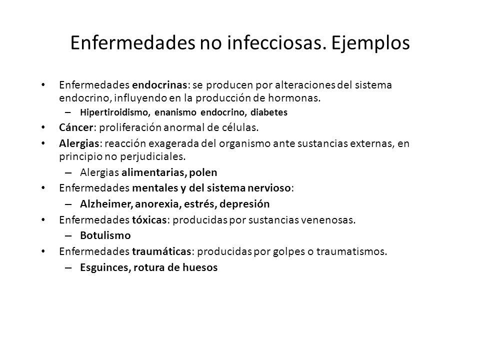 Enfermedades infecciosas Producidas por microorganismos patógenos – Bacterias – Virus – Hongos – Protozoos – Priones – Metazoos