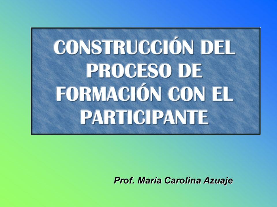 Prof. María Carolina Azuaje