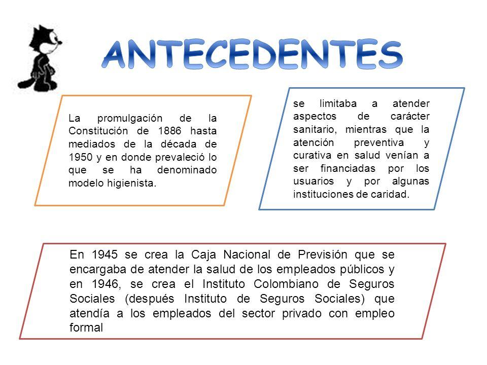 La segunda etapa, que inicio en la década de 1970 hasta 1989, se desarrolla bajo la creación del Sistema Nacional de Salud bajo el esquema de «subsidios a la oferta».