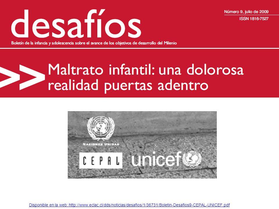 Disponible en la web: http://www.eclac.cl/dds/noticias/desafios/1/36731/Boletin-Desafios9-CEPAL-UNICEF.pdf