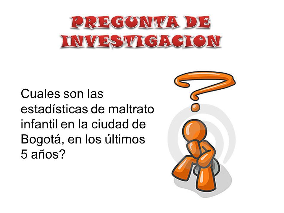 FRECUENCIA Fuente: INSTITUTO NACIONAL DE MEDICINA LEGAL Y CIENCIAS FORENSES.