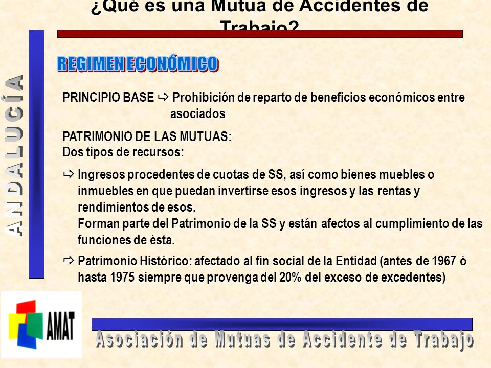 ¿Qué es una Mutua de Accidentes de Trabajo? ÓRGANOS DE GOBIERNO Y PARTICIPACIÓN JUNTA DE GOBIERNO: órgano superior de gobierno integrado por todos los
