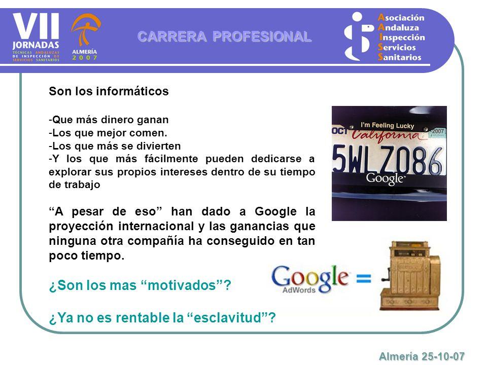 GRACIAS POR VUESTRA ATENCIÓN CARRERA PROFESIONAL Almería 25-10-07 Mas información en nuestra web: www.aaiss.com www.aaiss.com Mas información en nuestra web: www.aaiss.com www.aaiss.com Mas información en nuestra web: www.aaiss.com www.aaiss.com Mas información en nuestra web: www.aaiss.com