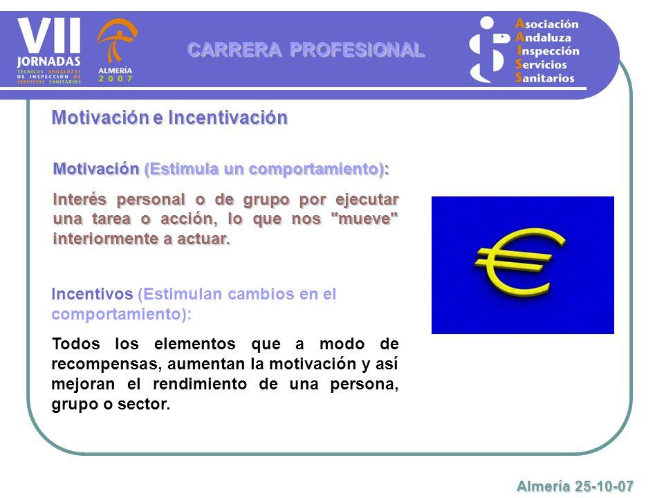 CARRERA PROFESIONAL Almería 25-10-07 Mas información en nuestra web: www.aaiss.com www.aaiss.com