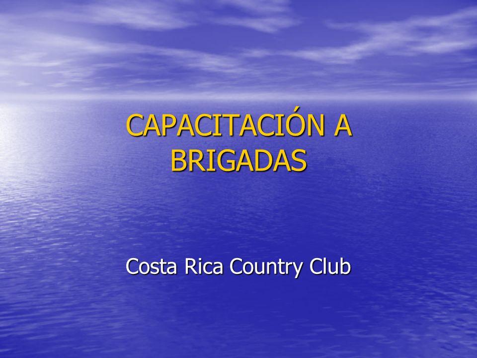 CAPACITACIÓN A BRIGADAS Costa Rica Country Club