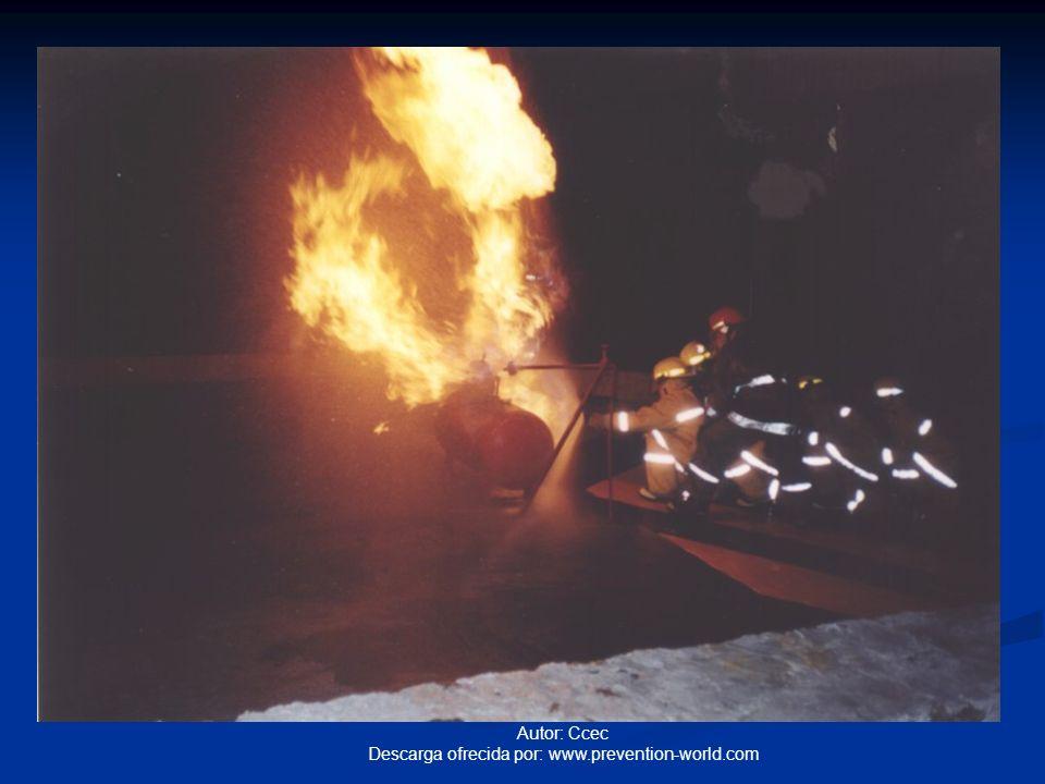 Autor: Ccec Descarga ofrecida por: www.prevention-world.com Métodos de extinción Eliminación o remoción: Directa cuando se retiran los combustibles o