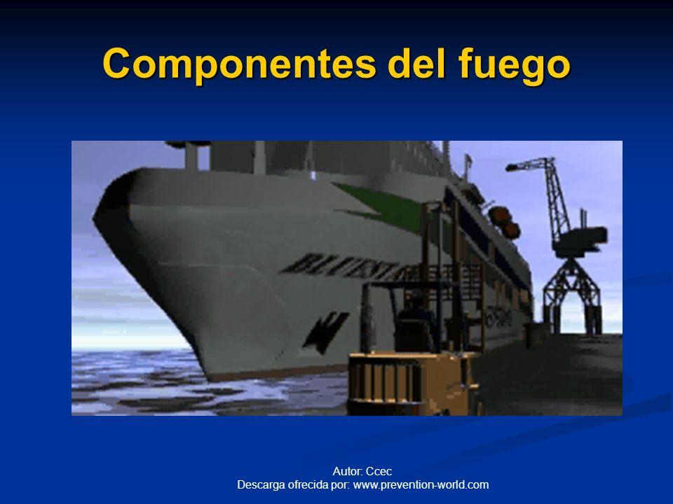 Autor: Ccec Descarga ofrecida por: www.prevention-world.com Componentes del fuego