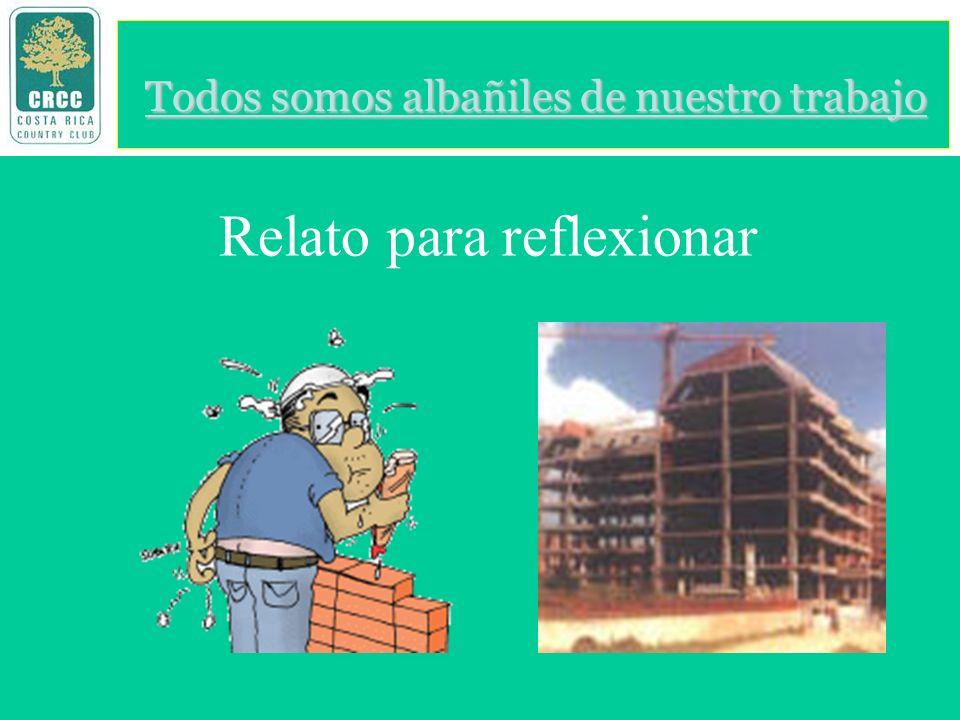Doctores, mi nombre es Juan Martínez López, soy pegador de ladrillos, trabajo con el arquitecto Alberto Casas, en el edificio Brisas del Pedregal.