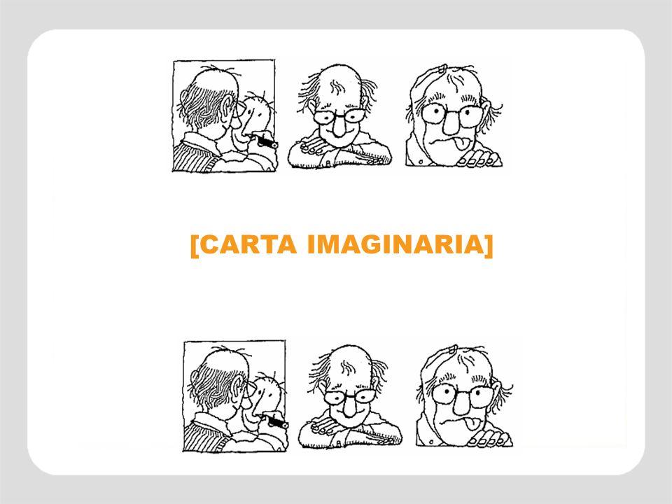 creatividad pensamiento creativo IMAGINACIÓN [CARTA IMAGINARIA]