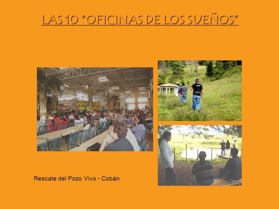 LAS 10 OFICINAS DE LOS SUEÑOS Rescate del Pozo Vivo - Cobán