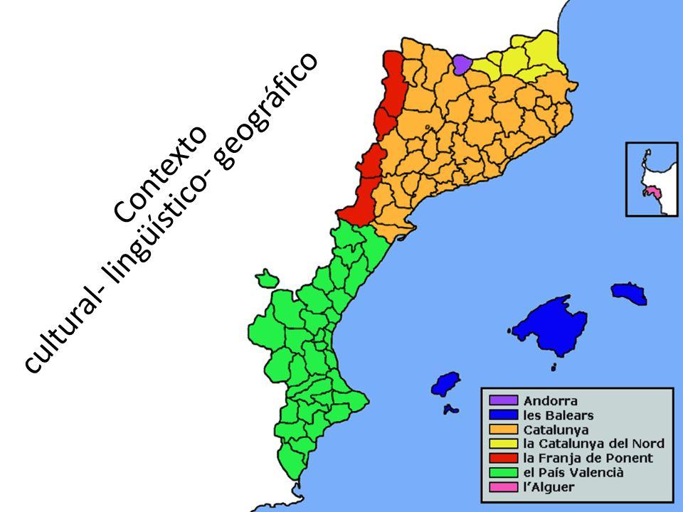 Contexto cultural- lingüístico- geográfico