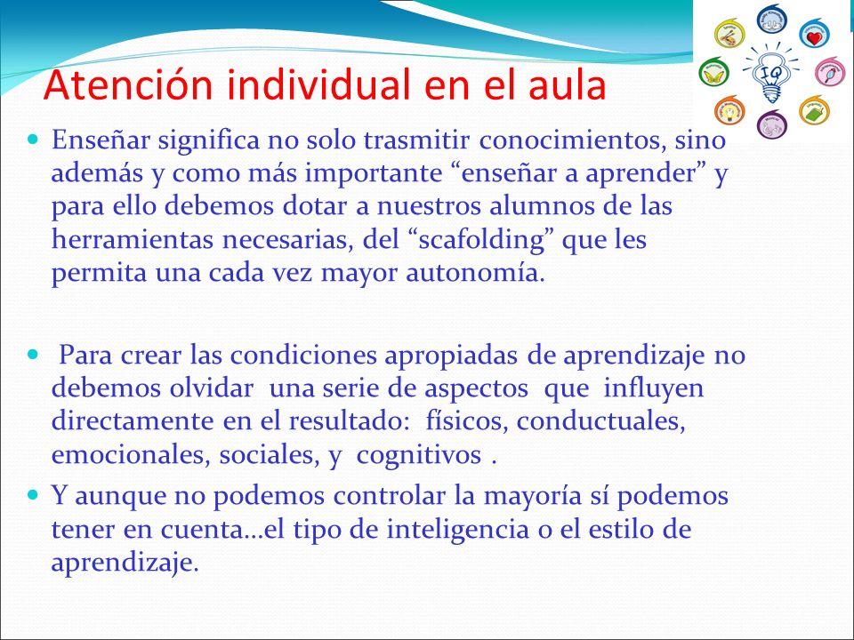 Inteligencia intrapersonal.¿cómo desarrollarla. Actividades en el aula.