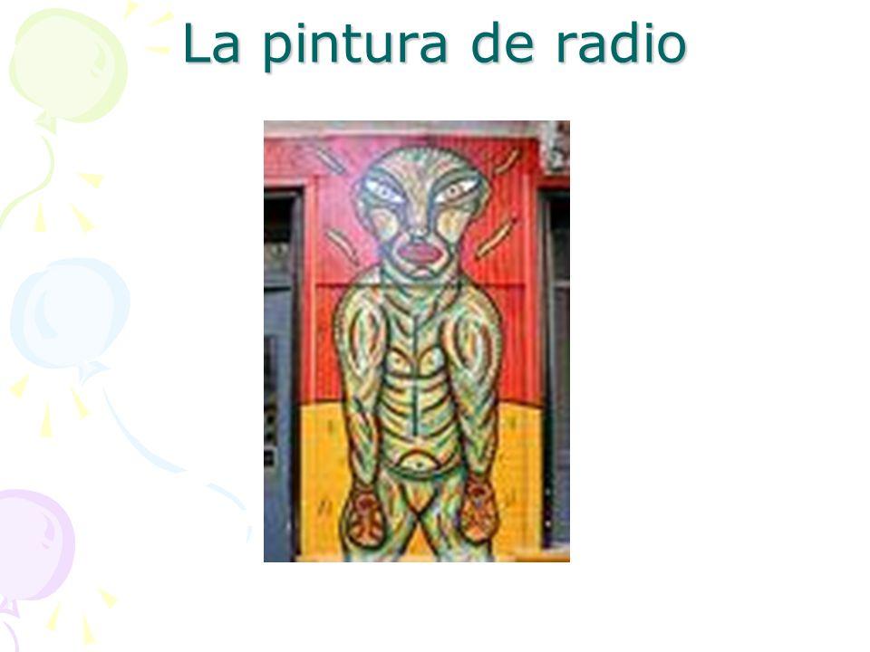 La pintura de radio