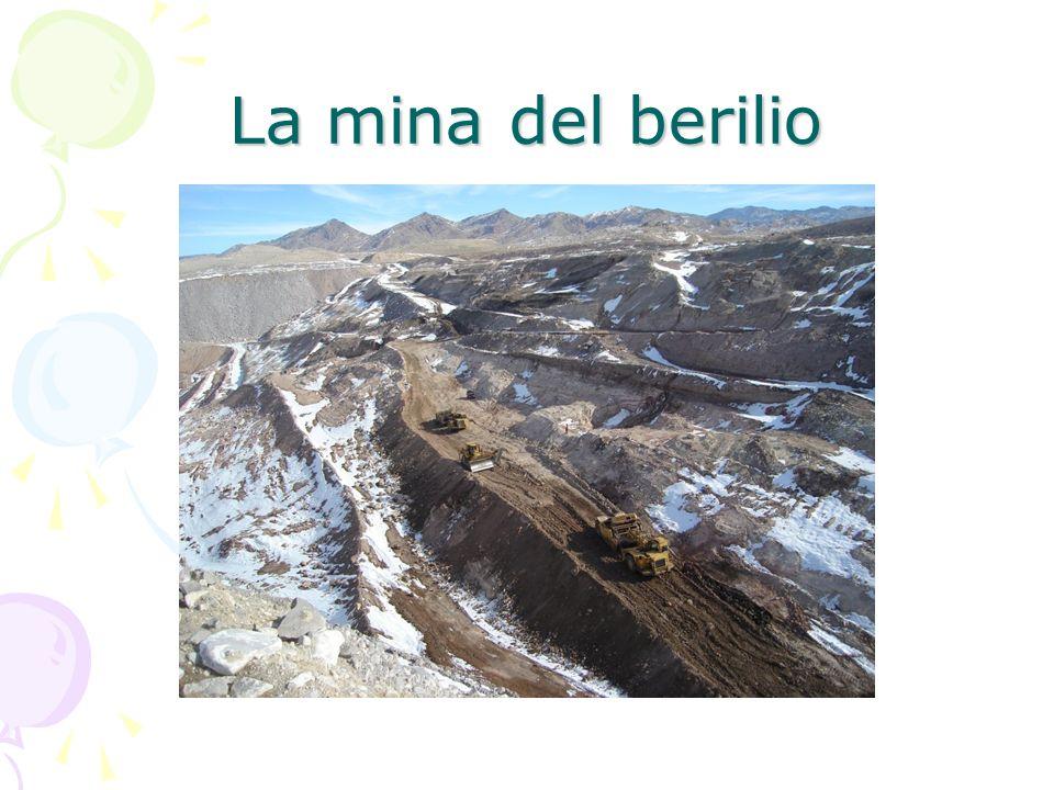La mina del berilio