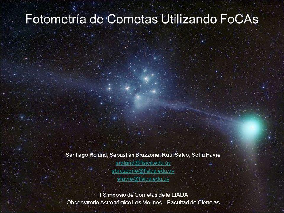 - Sitio Web de Focas 2 http://www.astrosurf.com/cometas-obs/_Articulos/Focas/Focas.htm - Fotometría Cometaria – Dr.