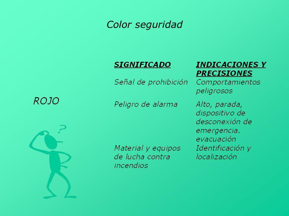 Color seguridad