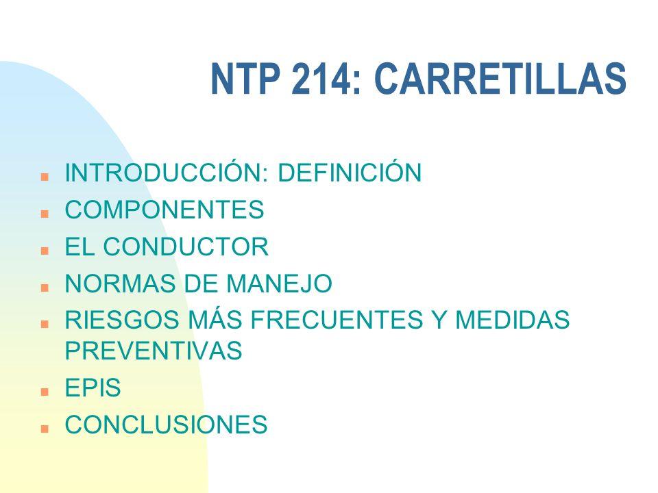 CARRETILLAS ELEVADORAS Cristina Vallés TÉCNICO DE PREVENCIÓN