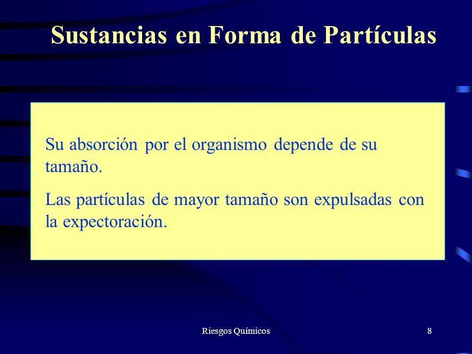 Riesgos Químicos19 Reconocimiento Conocimiento de los factores ambientales de los puestos de trabajo, para lo cual hay que estudiar los productos, procesos, instalaciones y métodos de trabajo.