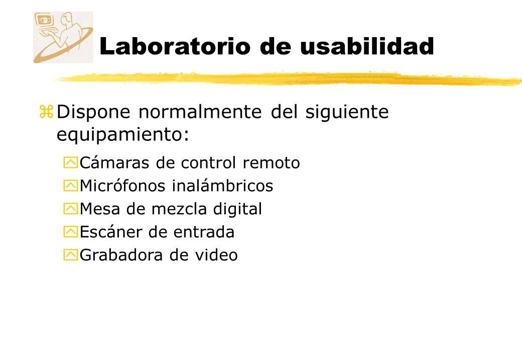 Laboratorio de usabilidad Fijo Laboratorio de usabilidad de Microsoft