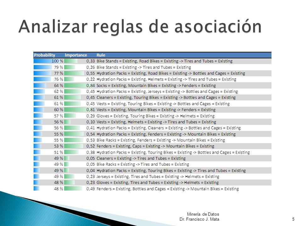 Minería de Datos Dr. Francisco J. Mata5