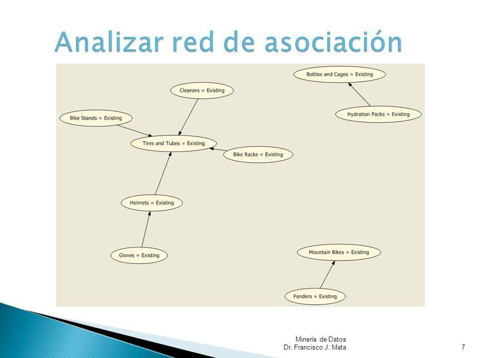 Minería de Datos Dr. Francisco J. Mata8