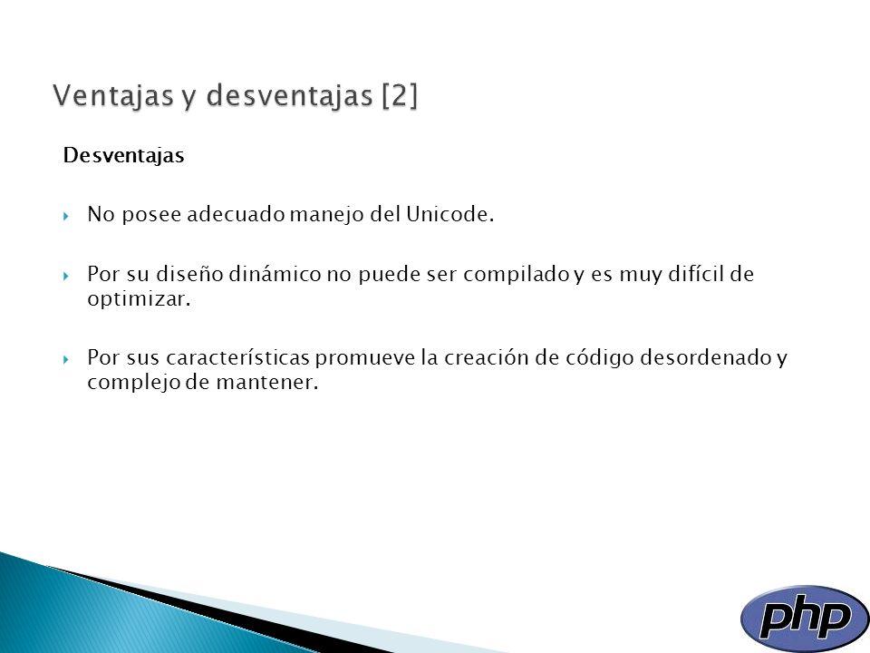 Sintaxis básica Página de prueba <?php sentencias de PHP; ?>